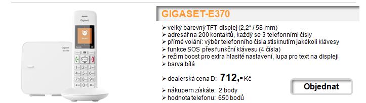 Gigaset - Novinky v sortimentu, již skladem!