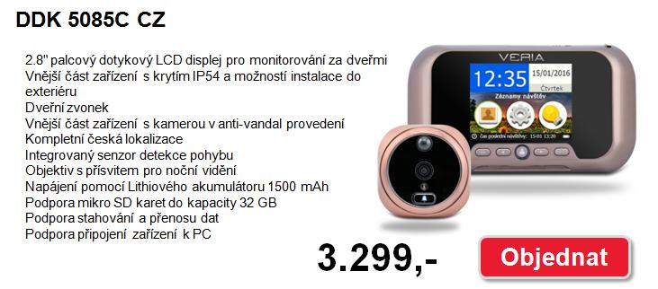 Nově v nabídce - Dveřní kukátka VERIA.
