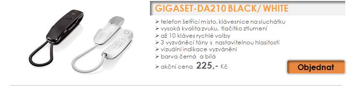 Gigaset - akční ceny telefonů již od 225,- Kč