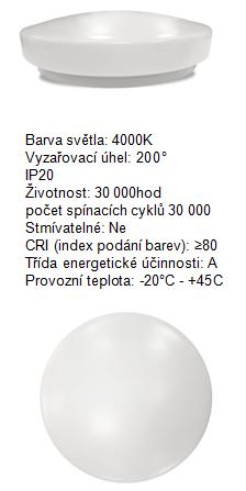 TESLA LIGHTING: stropní svítidla s čidlem pohybu