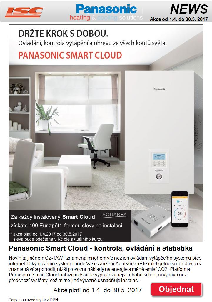 Panasonic Smart Cloud - sleva 100 € do konce května
