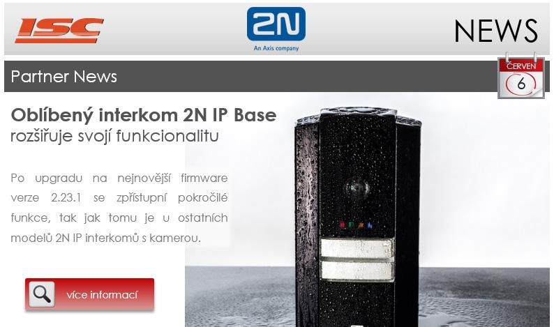 2N: Partner news - červen 2018, 2N IP Base rozšiřuje svoji funkcionalitu