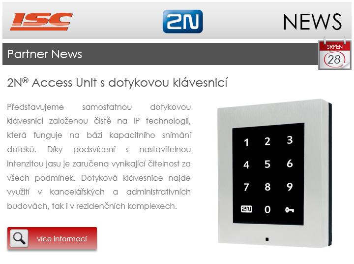 2N: Partner news srpen 2017